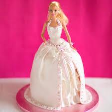Princess Barbie Cake Baking Mad