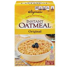 instant oatmeal original