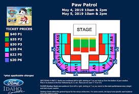 Events Paw Patrol Live Ford Idaho Center