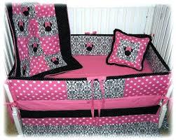 minnie mouse baby girl nursery bedding set cot best crib ideas on mickey