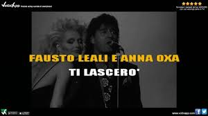 Anna Oxa e Fausto Leali - Ti lascerò (Karaoke HQ)