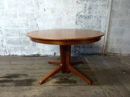 round danish dining table danish teak round and extending dining table scandinavian dining table melbourne