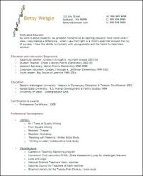 Resume Examples Teacher Unique Best Teacher Resumes Examples Of Images On Resume Free Templates