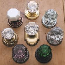 Crystal Glass Door Knobs
