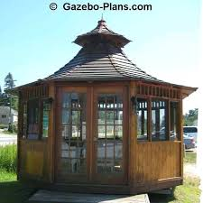 gazebo glass. full image for japanese garden gazebo plans wooden designs wood glass enclosed d
