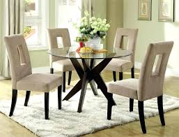 round glass dining table image of popular round glass top dining table glass dining table set