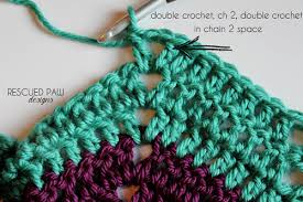 Double Crochet Chevron Pattern Delectable Classic Ripple Crochet Pattern Tutorial Rescued Paw Designs Crochet