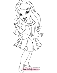 Coloring Pages Baby Disney Princess Coloring Pages Drawing Pr