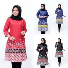 Anda sedang mencari model baju batik terbaru untuk anda dan pasangan? Model Baju Batik Wanita Terbaru 2020 Atasan Lengan Panjang Tunik Wanita Gemuk Jumbo Size Shopee Indonesia