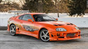 toyota supra fast and furious green. car paul walker drove in first fast u0026 furious movie to be auctioned off apr 23 2015 toyota supra and green o