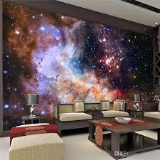 3d gorgeous galaxy photo wallpaper custom silk wallpaper starry night wall mural art painting hoom decor kid bedroom living room decoration wallpaper