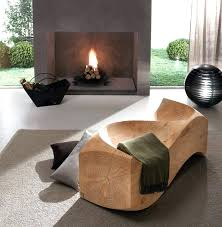 Image Stump Trendy Inspiration Ideas Unique Wood Furniture Unusual Indoor Benches Wooden Designs View In Gallery By Us Tierra Este Unique Wood Tables Ehealthcardsinfo