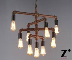 lovely diy rustic chandeliers with edison bulb chandelier zoom vintage retro edison bulb pendant