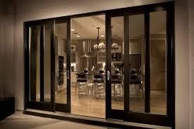 image of modern exterior sliding glass doors
