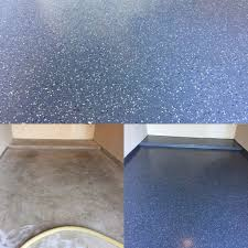 epoxy floor coating for your garage pros and cons. Garage Floor Done With A Partial Flake Epoxy Coating. Coating For Your Pros And Cons S
