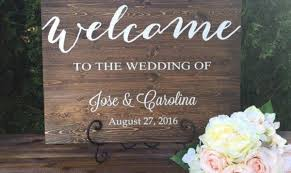 rustic wooden signs for weddings wooden designs
