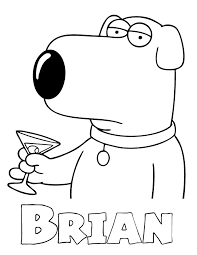 Small Picture Family Guy Coloring Pages Coloring Home