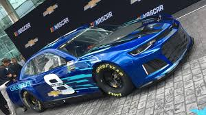 2018 chevrolet nascar cup car. simple nascar detroit u2014 chevrolet unveiled the allnew camaro zl1 as teamu0027s race car  for 2018 nascar monster energy cup series season the announcement was made  throughout chevrolet nascar cup