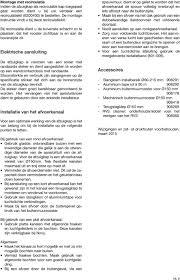 Nl Nederland Gebruiksaanwijzing En Installatievoorschriften P 2 Pdf