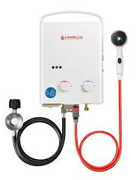 camplux 5l 1 32 gpm outdoor portable propane tankless water heater review