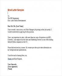 Sample Job Inquiry Email Get Job Inquiry Email Example Activetraining Me