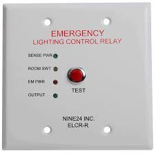 emergency lighting controls elcr r nine inc