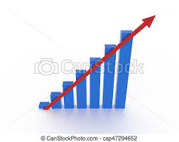 Rising Chart With Arrow