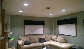 recessed lighting for living room good idea