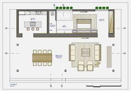 Modern House   Open Sensation Using Glass Walls   Loft Bauhaus    plan of Modern House   Open Sensation Using Glass Walls
