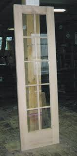 interior single french door 10 divided lights brooklyn ny interior single glass panel