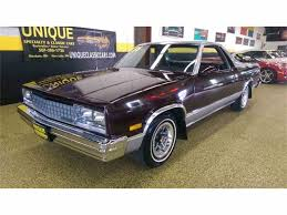 1986 Chevrolet El Camino for Sale on ClassicCars.com