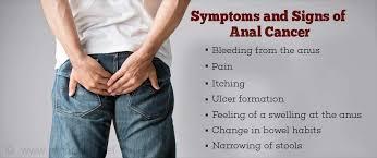 Anal bleeding in males