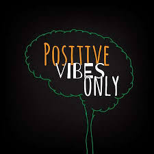Positive Vibes Only Motivation Clever Ideas In The Brain Poster