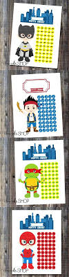 Jake And The Neverland Pirates Potty Chart Super Cute Boy Potty Training Charts Superheros Tmnt