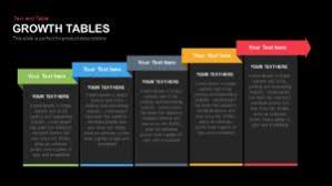Growth Tables Growth Tables Powerpoint Presentation Template Slidebazaar