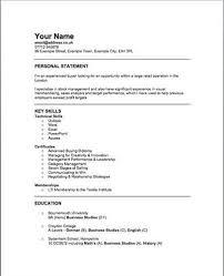 Retail Buyer Resume Objective