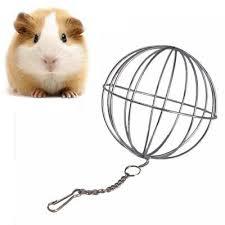 <b>Sphere</b> Feed Dispenser Hanging <b>Ball</b> Toy Guinea Pig Hamster Rat ...