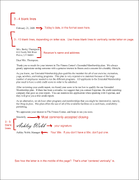 Professional Letter Format Example Comp Tech Home READ Writing A Professional Letter 13