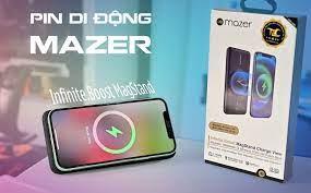 Trên tay pin Mazer Infinite.Boost MagStand: Đúng chuẩn sạc hít, hít mạnh, sạc  không dây iPhone 15W