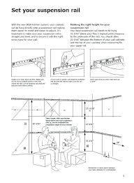 wall cabinet hanging rail ing ikea wall cabinet suspension rail uk