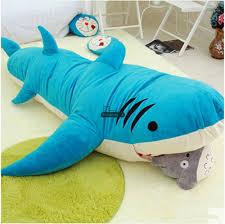 Giant Plush Shark Sleeping Bag