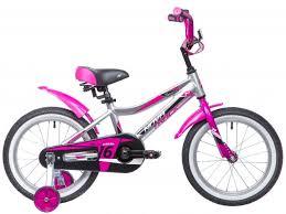 "<b>Велосипед NOVATRACK</b> 2019 <b>NOVARA 16</b>"", серебристый"