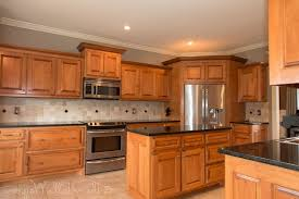 image of hickory kitchen cabinets for