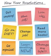 Teen new years resolutions