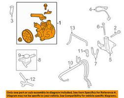 Details About Subaru Oem 09 13 Forester Power Steering Pump 34430fg0009l