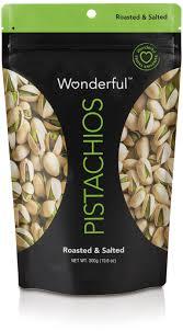 Wonderful Pistachios Roasted Lightly Salted 16 Oz Wonderful Pistachios Roasted Salted 300g