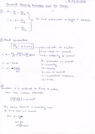 Journal Bearing Design Tpce Mech Books Journal Bearing Design Formulas Design Of