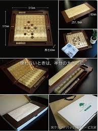 Wooden Othello Board Game kizamu Rakuten Global Market Excellent case carved seal amp 34