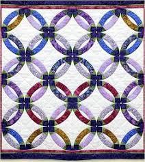 Quilt Inspiration: Quilt Inspiration: Wedding Ring Quilts ! (part ... & Quilt Inspiration: Wedding Ring Quilt Inspiration... and free patterns Adamdwight.com