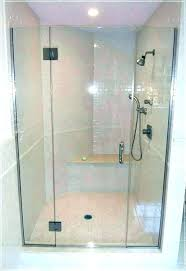 glass shower enclosure cost doors tub express air tempered at home depot cos